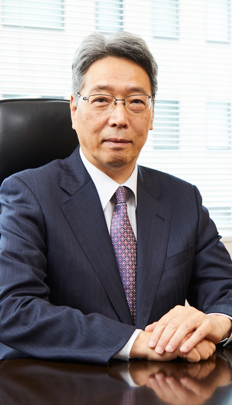 picture:President and CEO Tetsuo Hikawa